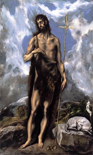 St. John the Baptist, c.1600 - El Greco
