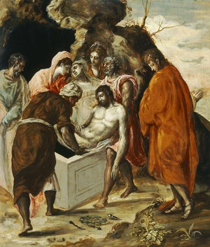 The Entombment of Christ - El Greco
