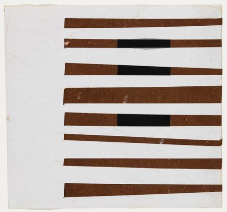 Black, Brown, White, 1951 - Ellsworth Kelly