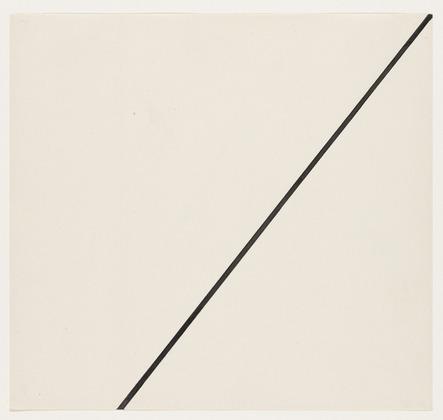 Diagonal, 1951 - Ellsworth Kelly