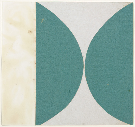 Green Curves from the series Line Form Color, 1951 - Ellsworth Kelly