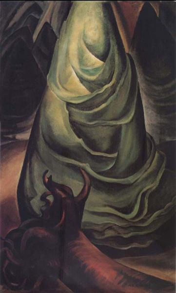 A Young tree, 1931 - Емілі Карр