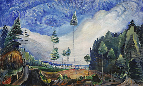Loggers' Culls, 1935 - Emily Carr