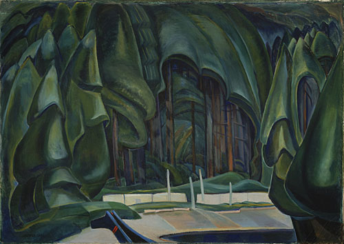 Old Time Coast Village, 1929 - 1930 - Emily Carr