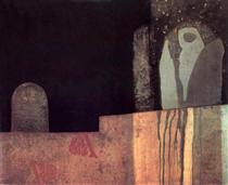 Statue in a Cemetery - Ендре Балінт