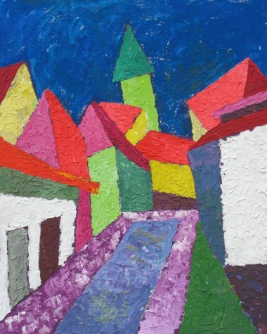 Cubist city, 2004 - Endre Bartos