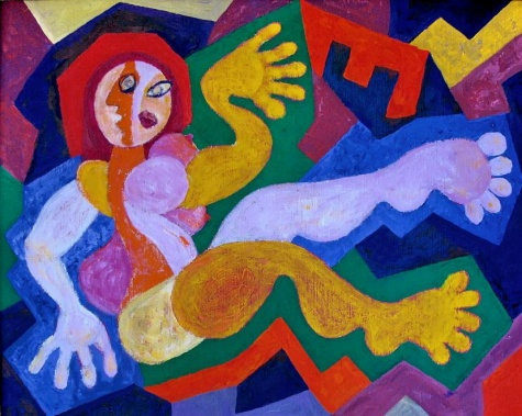 Snake woman, 2005 - Endre Bartos