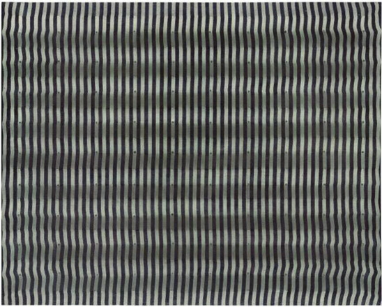 Untitled (Striped Surface), 1961 - Энрико Кастеллани