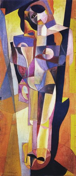Donna + ambiente, 1915 - Enrico Prampolini