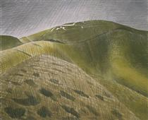 The Vale of the White Horse - Eric Ravilious