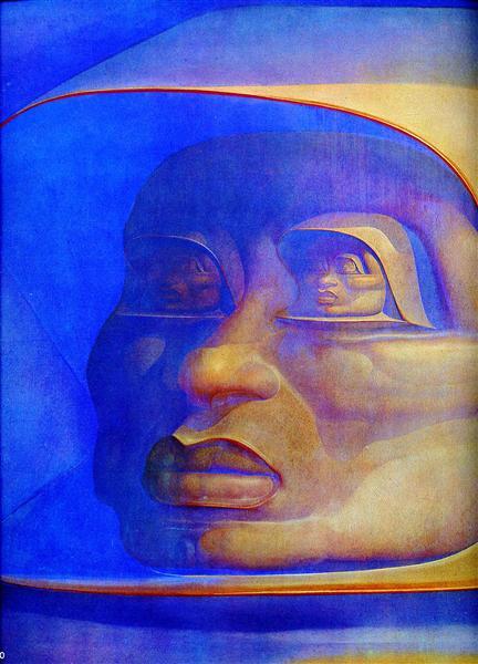 Observator Infinitor, 1972 - Ernst Fuchs