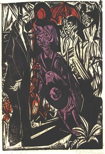 The Selling of the Shadow - Ernst Ludwig Kirchner