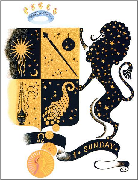 The Zodiac, Leo - Erte