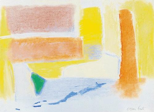 Untitled, 1996 - Esteban Vicente