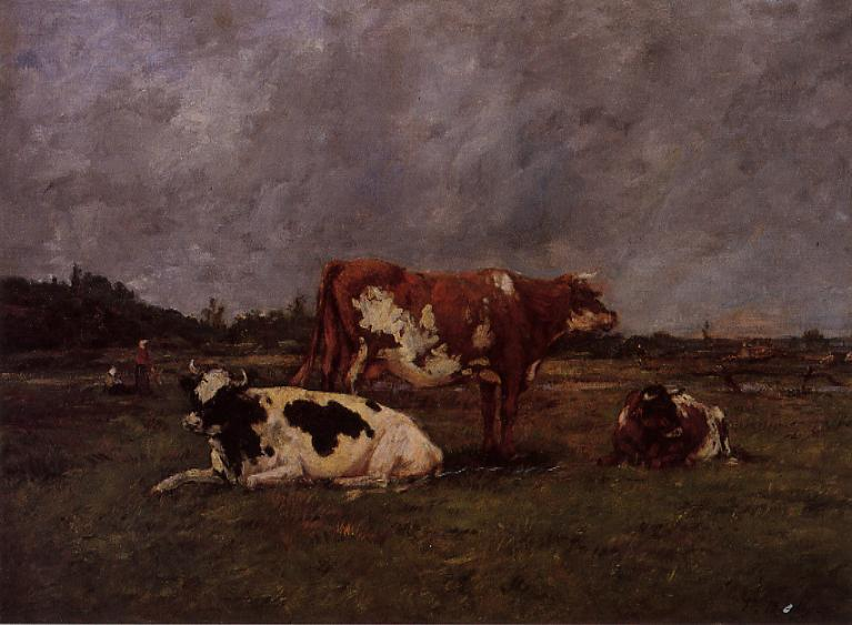 Cows in Pasture, 1883