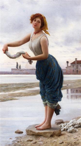 The Lavender, 1912 - Эжен де Блаас