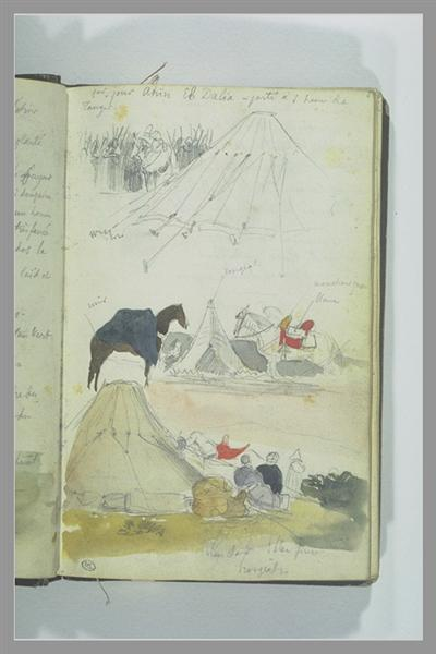 Arab Studies Camp - Eugene Delacroix