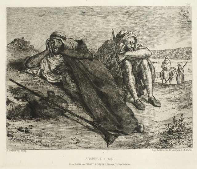 Arabs of Oran, 1833 - 1847 - Eugene Delacroix