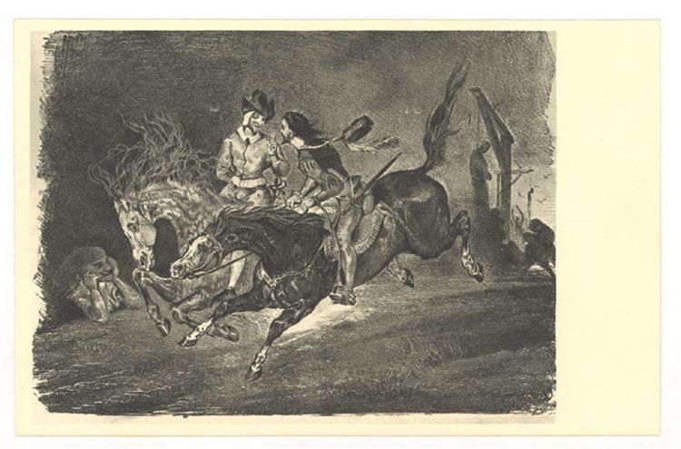 Faust, 1825 - 1827 - Eugene Delacroix