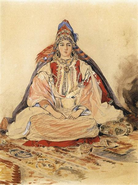 Jewish Bride, 1832 - Eugene Delacroix