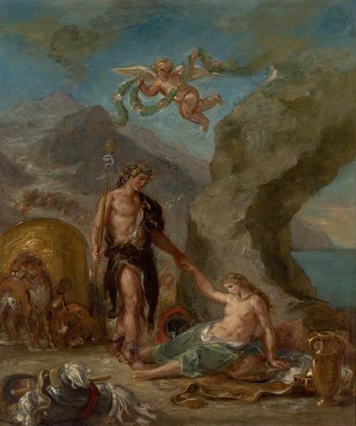 The Autumn Bacchus and Ariadne, 1856 - 1863 - Eugene Delacroix