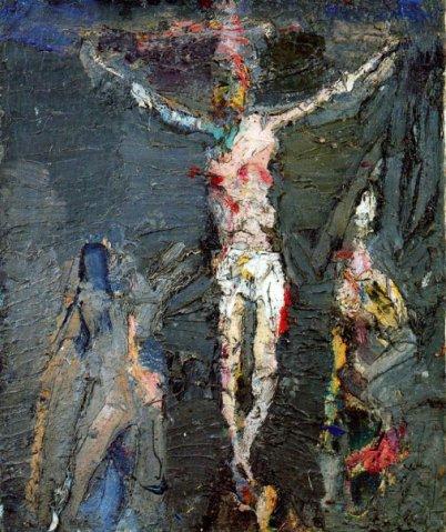 Crusifixion, 1956 - Eugène Leroy
