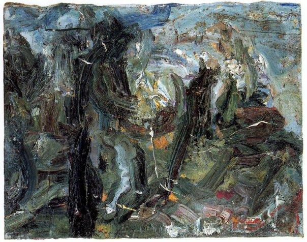 Winter wind, 1966 - Eugene Leroy