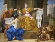Allegory of Magnificence - Eustache Le Sueur