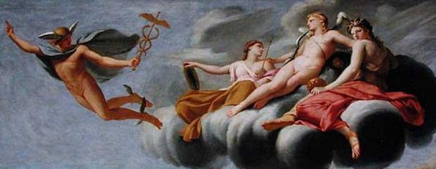 Cupid Ordering Mercury to Announce his Power to the Universe, 1646 - 1647 - Eustache Le Sueur