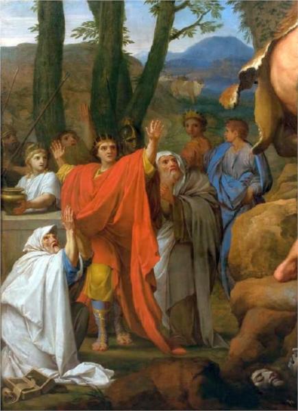 Hercules fighting Cacus, 1653 - Eustache Le Sueur