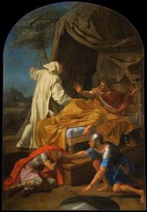 St. Bruno Appearing to Comte Roger - Eustache Le Sueur
