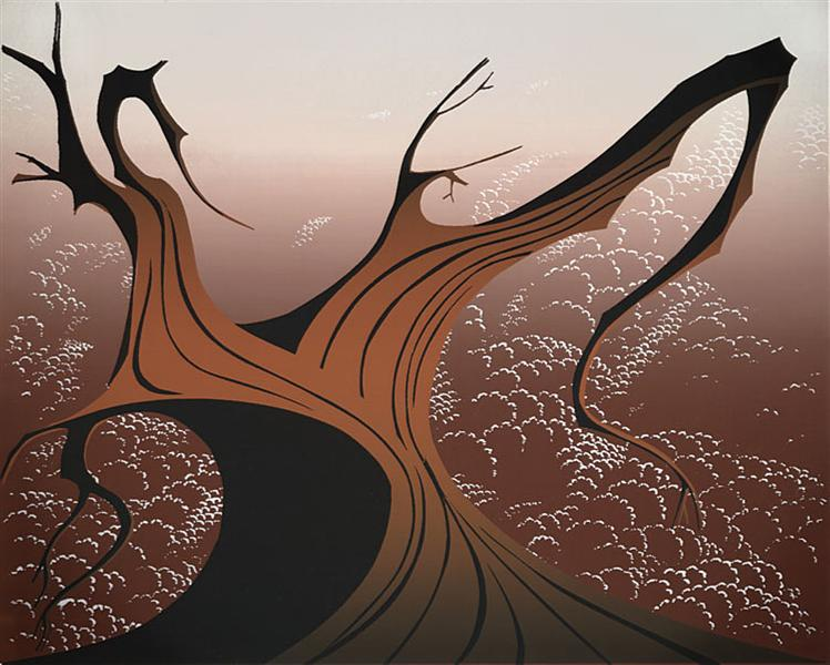 Brown Tree, 1974 - Eyvind Earle