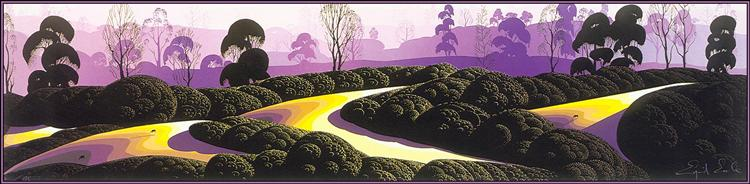 Purple Pastures - Eyvind Earle