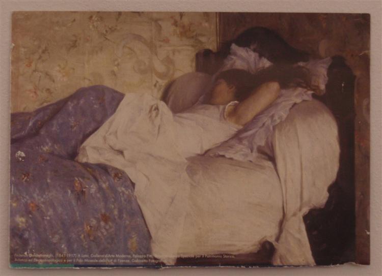 In Bed - Federico Zandomeneghi