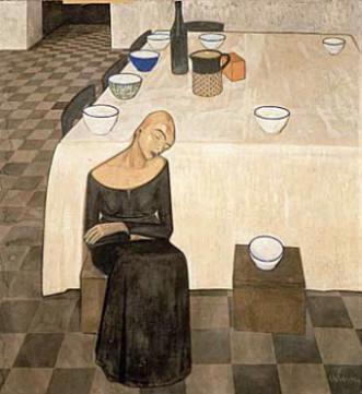 L'attesa, 1918 - 1919 - Felice Casorati