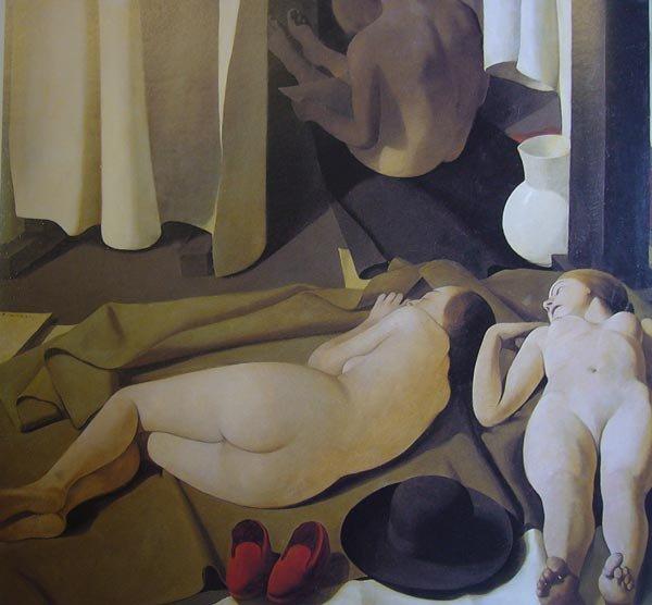 Midday, 1923 - Felice Casorati