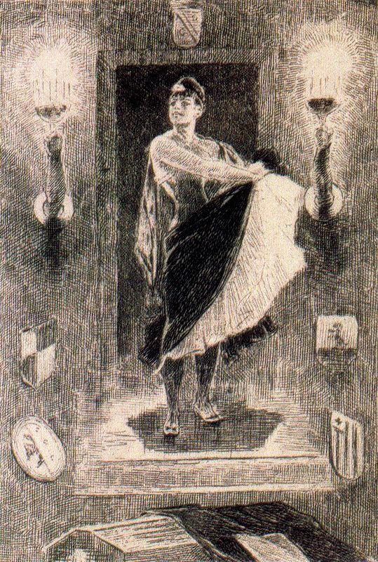 Illustration of 'Les Diaboliques', 1879