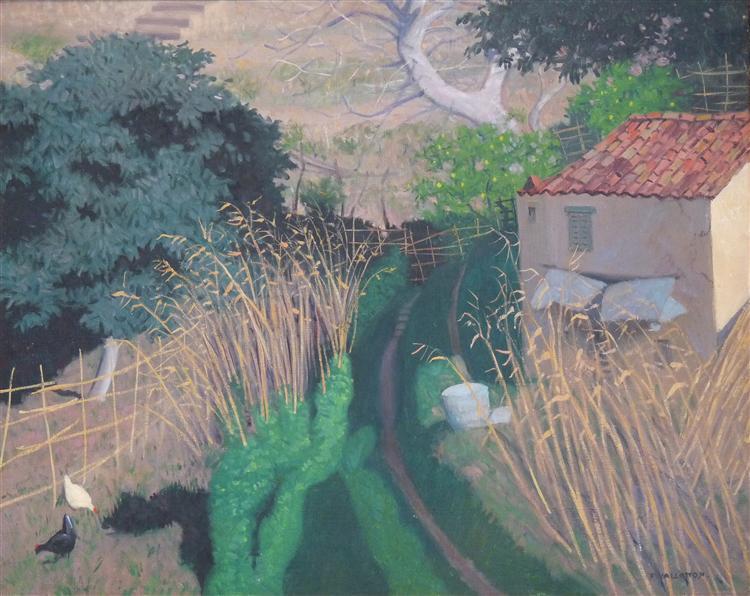 Housesand reeds, 1921 - 1924 - Felix Vallotton