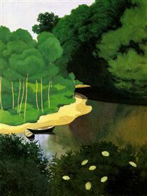 The Dordogne with Carrenac - Felix Vallotton
