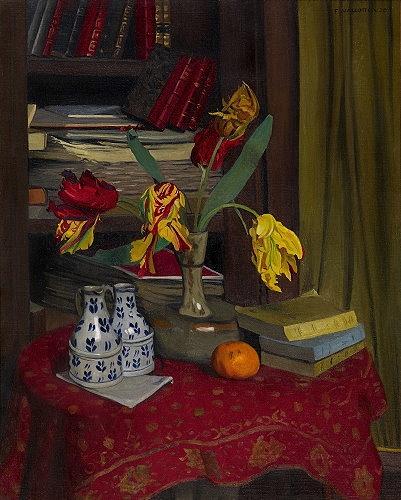 Tulipes perroquet, 1920 - Felix Vallotton