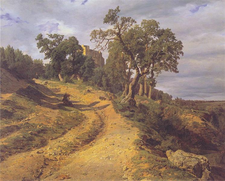 The ruin Lichtenstein at Mödling, 1848 - Ferdinand Georg Waldmüller