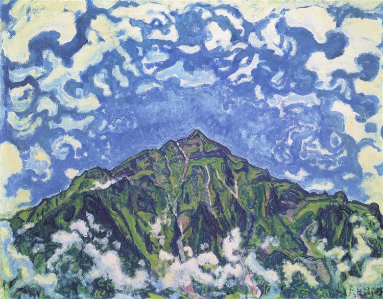Niesen, 1910 - Ferdinand Hodler