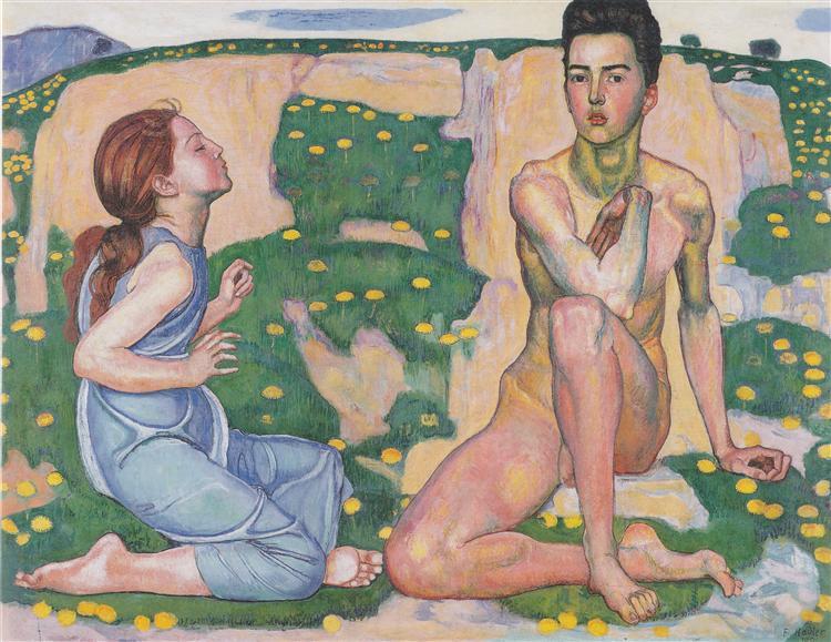 Spring, 1901 - Ferdinand Hodler