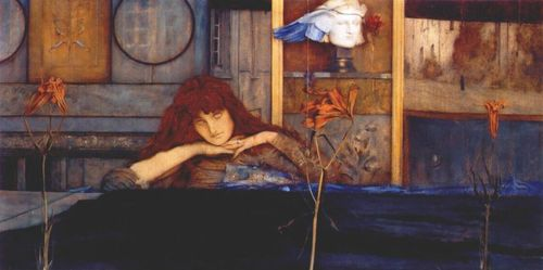 I Lock My Door Upon Myself, 1891 - Fernand Khnopff