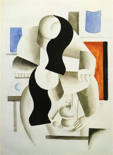 Breakfast, 1921 - Fernand Leger