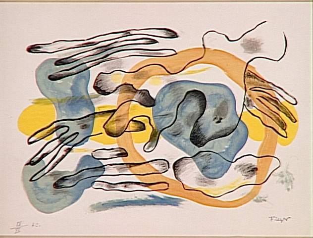 Clouds - Fernand Leger