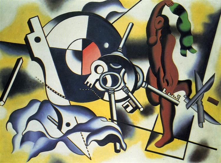 Contrast of object, 1930 - Fernand Leger