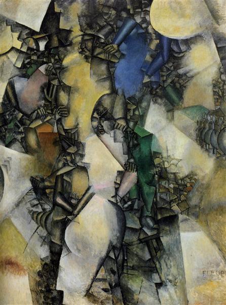 Trouville, 1910 - 1911 - Fernand Leger