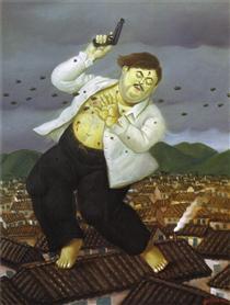 Morte di Pablo Escobar - Fernando Botero