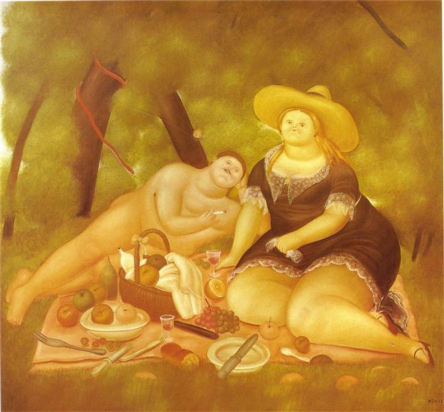 Luncheon on the Grass, 1969 - Fernando Botero